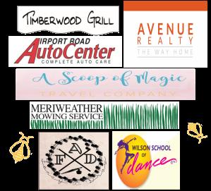 Hollymead sponsor logos
